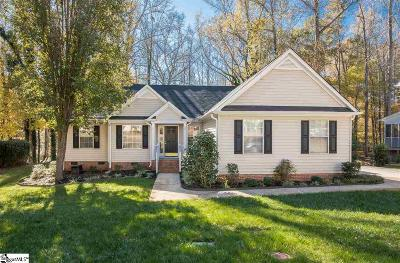 Simpsonville Single Family Home Contingency Contract: 25 Summer Glen