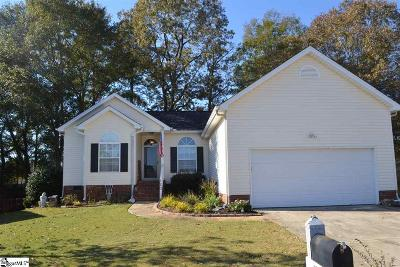 Simpsonville Single Family Home For Sale: 120 Windy Meadow