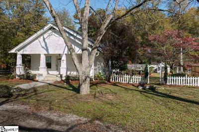 Laurens Single Family Home For Sale: 1106 W Main
