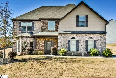 Simpsonville Single Family Home For Sale: 2 Tippecanoe