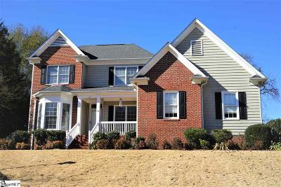 Greenville Single Family Home For Sale: 108 Misty View