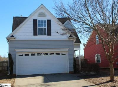 Simpsonville Single Family Home For Sale: 31 Pfeiffer
