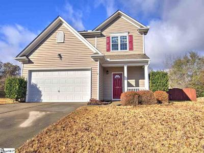 Simpsonville Single Family Home Contingency Contract: 504 Kingfisher