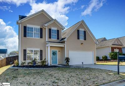 Greenville Single Family Home Contingency Contract: 5 Gentle Winds