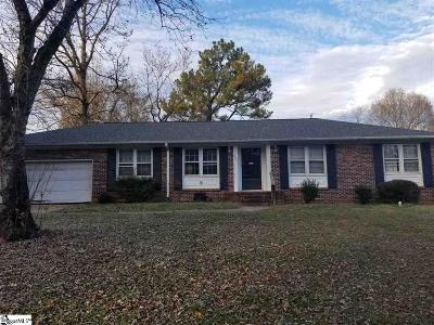 Mauldin Single Family Home Contingency Contract: 309 Poplar