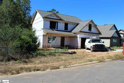 Fountain Inn Single Family Home Contingency Contract: 318 Catterick