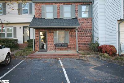 Greenville County Condo/Townhouse For Sale: 309 Summer Woods