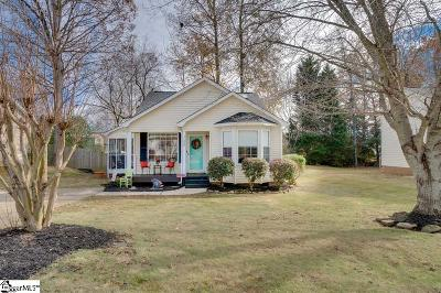Simpsonville Single Family Home Contingency Contract: 530 Dunwoody