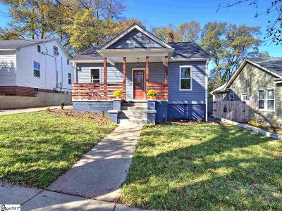Greenville Single Family Home For Sale: 14 Underwood