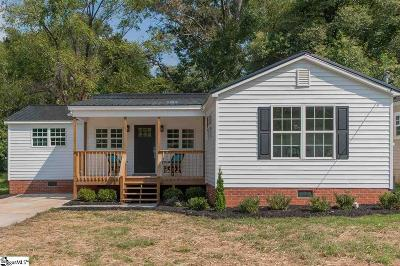 Greenville Single Family Home Contingency Contract: 9 Druid