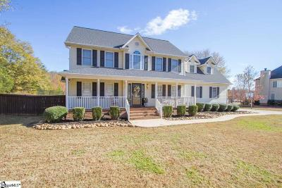 Easley Single Family Home Contingency Contract: 108 Saturn