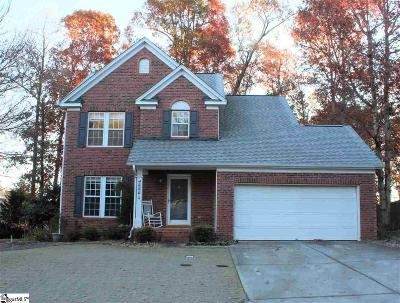Simpsonville Single Family Home Contingency Contract: 105 Moncton