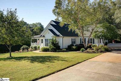 Simpsonville Single Family Home For Sale: 8 Riverfront