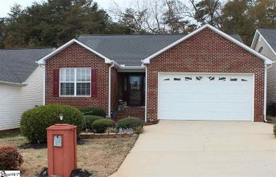 Greer Single Family Home Contingency Contract: 127 Cosmos