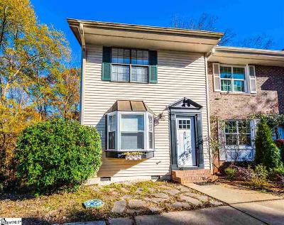 Greer Condo/Townhouse Contingency Contract: 624 Forest Creek
