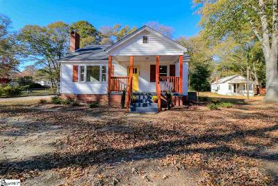 Simpsonville Single Family Home For Sale: 207 S Pliney