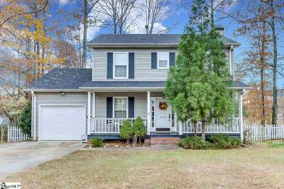 Taylors Single Family Home Contingency Contract: 208 Charmar