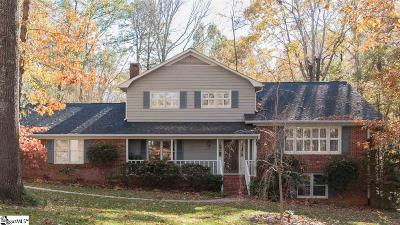Greenville Single Family Home For Sale: 121 Trafalgar