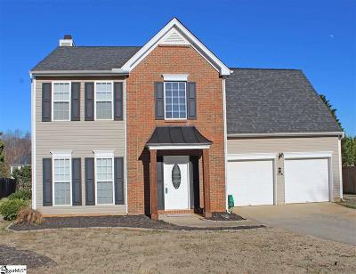 Simpsonville Single Family Home For Sale: 600 Fairview Lake
