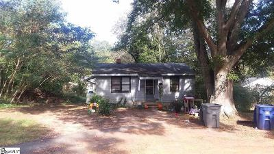Greenville County, Spartanburg County Single Family Home For Sale: 234 Conley