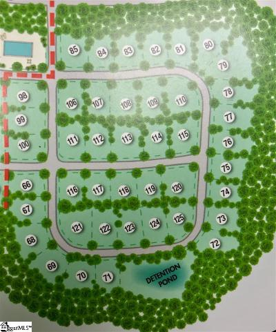 Simpsonville Residential Lots & Land For Sale: 100 Braxton Meadow