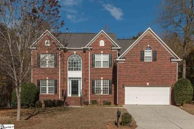 Simpsonville Single Family Home For Sale: 12 Brighthaven