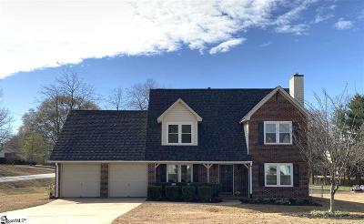 Mauldin Single Family Home For Sale: 4 Brooks