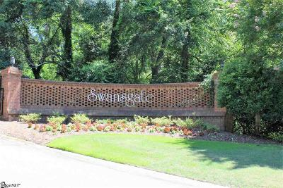 Greenville Condo/Townhouse For Sale: 109 Swansgate