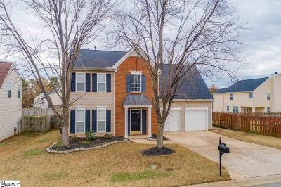 Simpsonville Single Family Home For Sale: 5 Summerchase