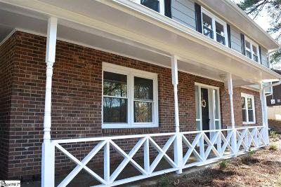 Greenville Single Family Home For Sale: 303 Fairmont