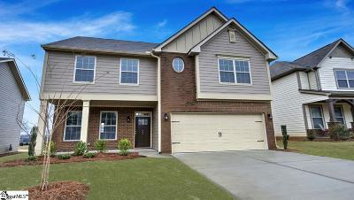Simpsonville Single Family Home For Sale: 607 Troutdale