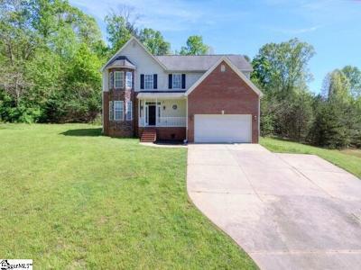 Spartanburg Single Family Home For Sale: 102 Hollyridge