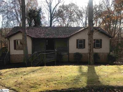 Simpsonville Single Family Home Contingency Contract: 105 Concord
