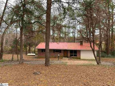 Greenville Single Family Home For Sale: 2305 Standing Springs