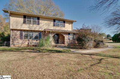 Mauldin Single Family Home For Sale: 105 Meadowbrook