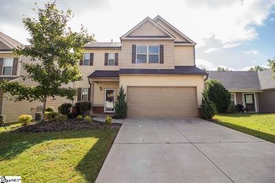 Simpsonville Single Family Home For Sale: 314 Barrett Chase