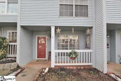 Greenville Condo/Townhouse Contingency Contract: 8 Bear Grass