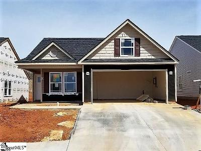 Greer Single Family Home For Sale: 204 Devonfield