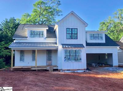 Greenville SC Single Family Home For Auction: $989,605
