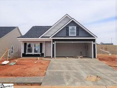 Greer Single Family Home For Sale: 202 Devonfield