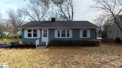 Greenville Single Family Home For Sale: 135 Chipley