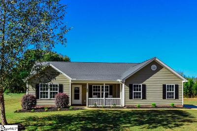 Spartanburg Single Family Home Contingency Contract: 611 Aurora