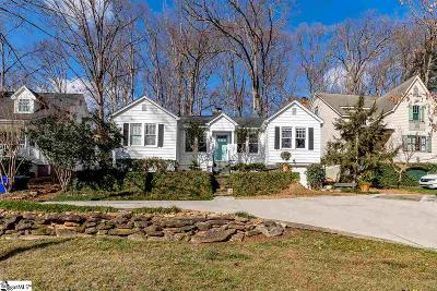 Greenville Single Family Home For Sale: 71 Rock Creek