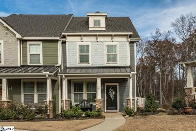 Simpsonville Condo/Townhouse For Sale: 40 Recess