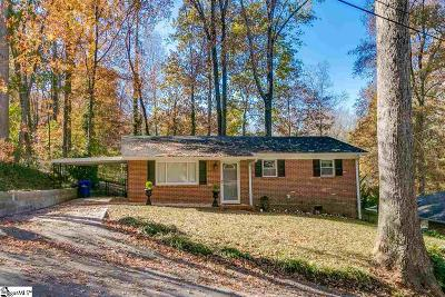 Greenville Single Family Home For Sale: 39 Essex
