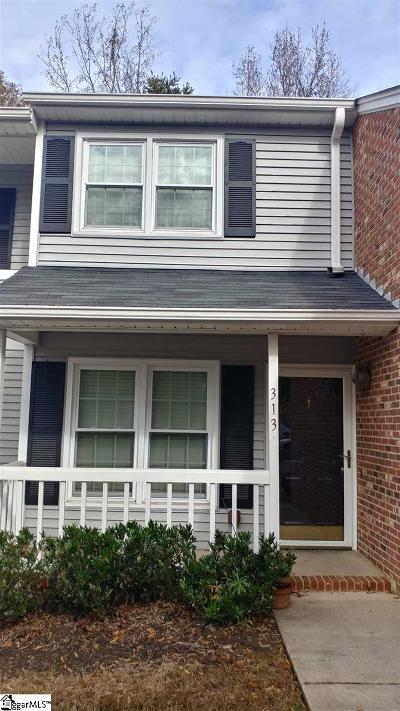 Mauldin Condo/Townhouse For Sale: 313 Tradd