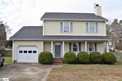 Easley Single Family Home Contingency Contract: 105 Elizabeth