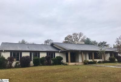 Taylors Single Family Home For Sale: 225 Lincoln
