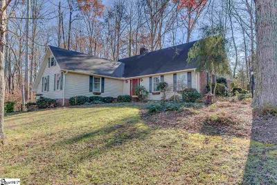 Travelers Rest Single Family Home For Sale: 302 Club