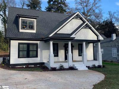 Greenville Single Family Home For Sale: 7 Douglas